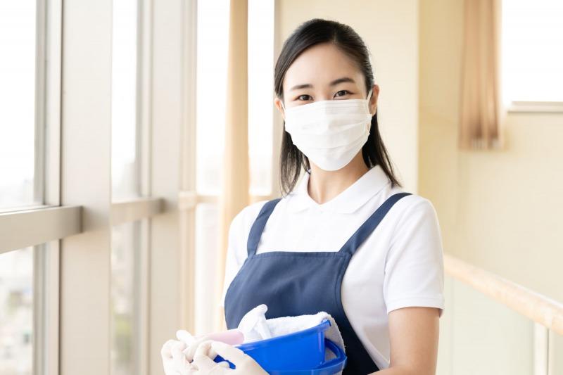 清掃・消臭作業